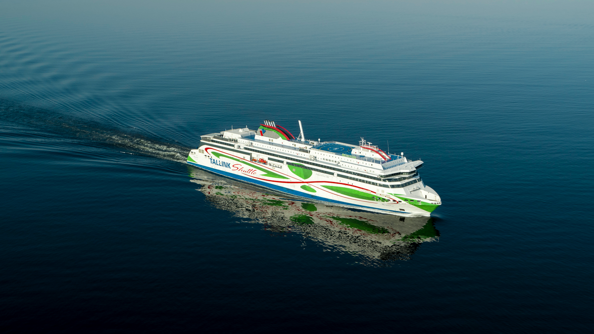 Megastar will be the second vessel in the Tallink fleet to feature an ABB-supplied shore connection (source: Tallink Grupp)