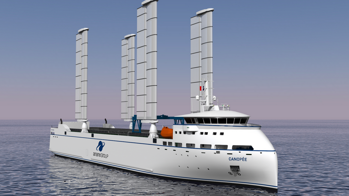 AYRO's Oceanwings windsail to be manufactured at Port of Caen