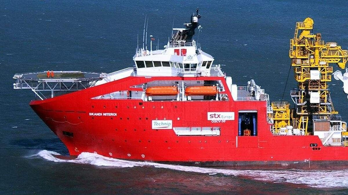 Skandi Niteroi is jointly owned by DOF Subsea and TechnipFMC (source: TechnipFMC)