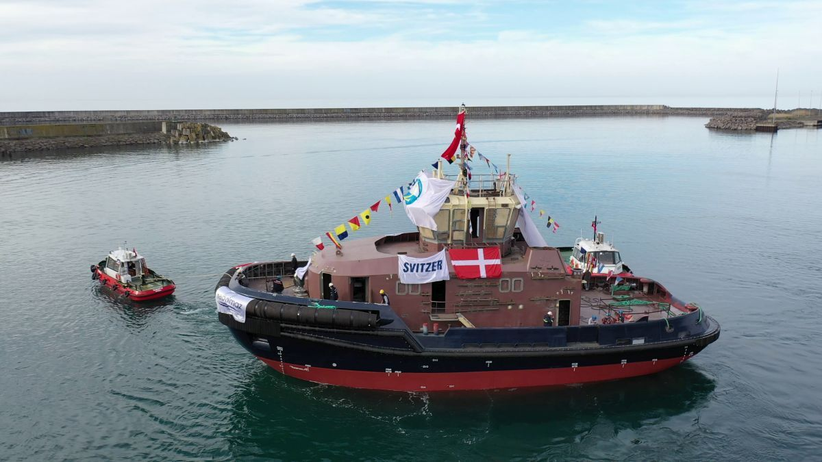 Svitzer Edda was built by Med Marine in Turkey with 60 tonnes of bollard pull (source: Med Marine)