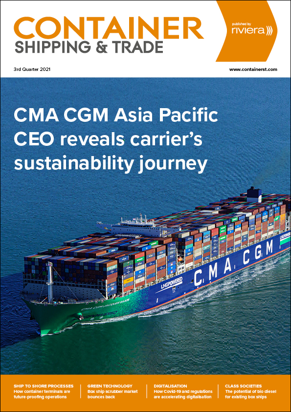 Container Shipping & Trade 3rd Quarter 2021