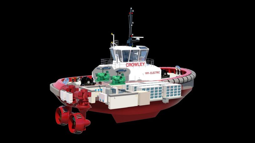 Batteries ordered for first American all-electric tug