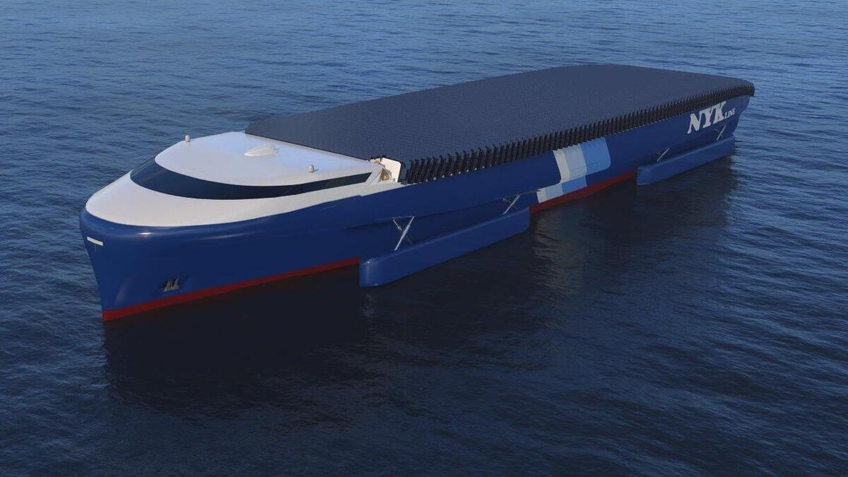 NYK is developing a concept design for an ammonia-ready LNG-fuelled ship (source: NYK Group)