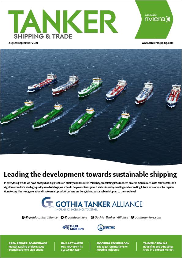 Tanker Shipping & Trade August/September 2021