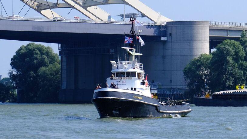 Alphatron Marine uses old tug for 'mariniser' training