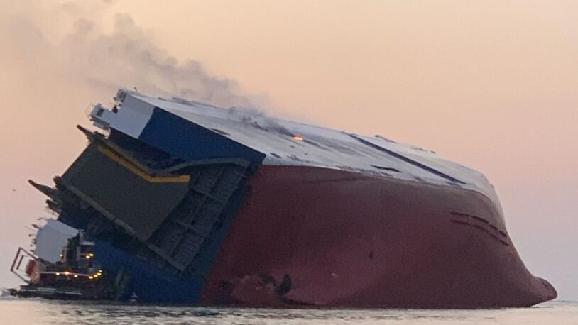 Inaccurate stability calculations caused US$200M Golden Ray capsize