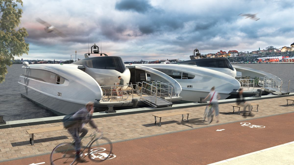 Green City Ferries' high-speed craft to revolutionise commuter travel