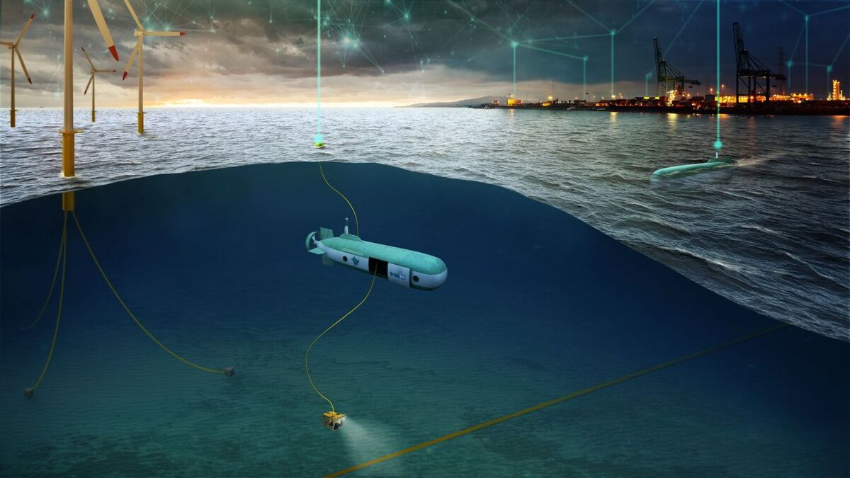 Underwater mothership will cut costs and reduce emissions from offshore maintainers