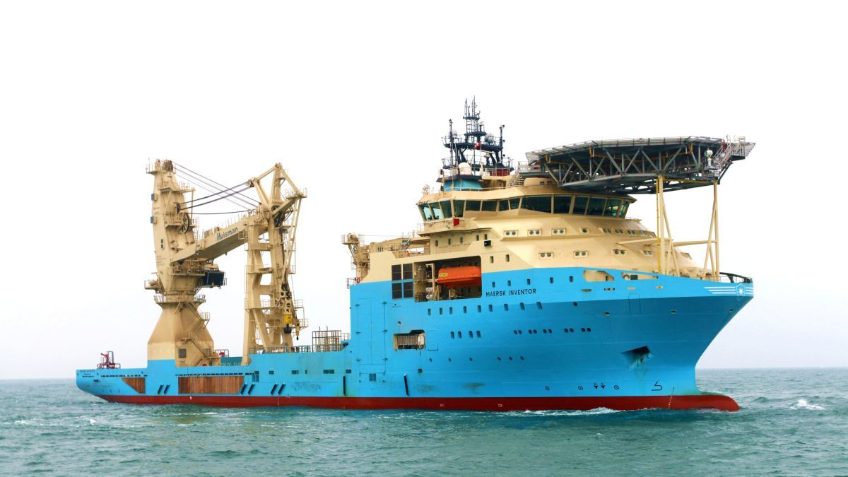 In Cameroon, Maersk Supply Service will support a special FSO mooring project with an I-class subsea support vessel (source: Maersk)