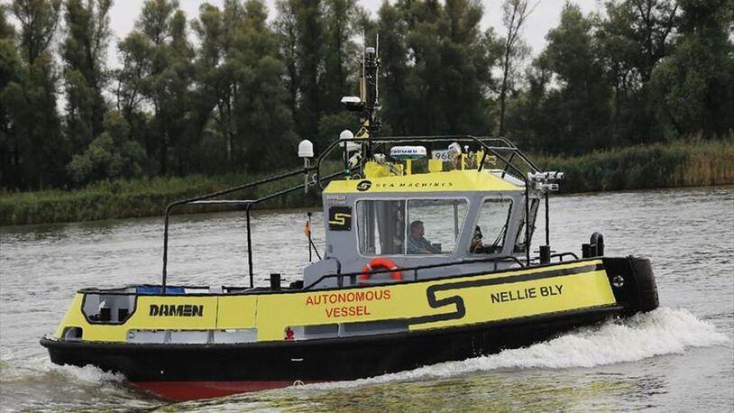 Autonomous tug set to circumnavigate Denmark