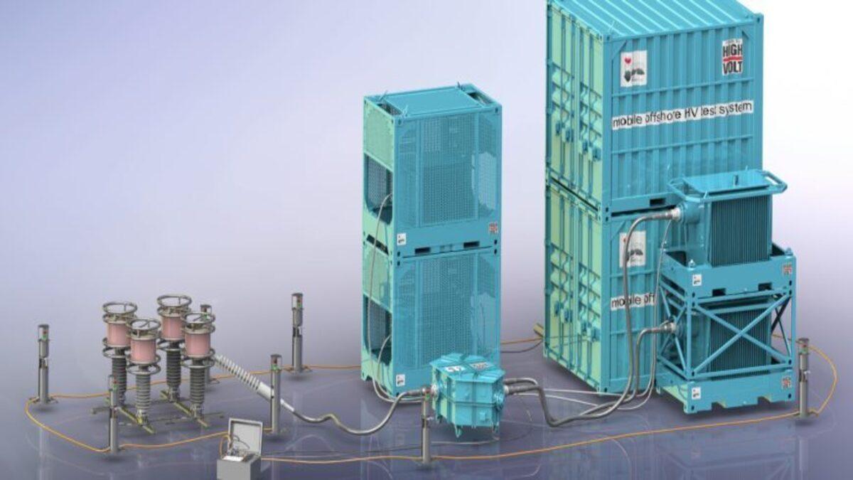 JDR adopts resonant test technology for 66-kV offshore windfarms