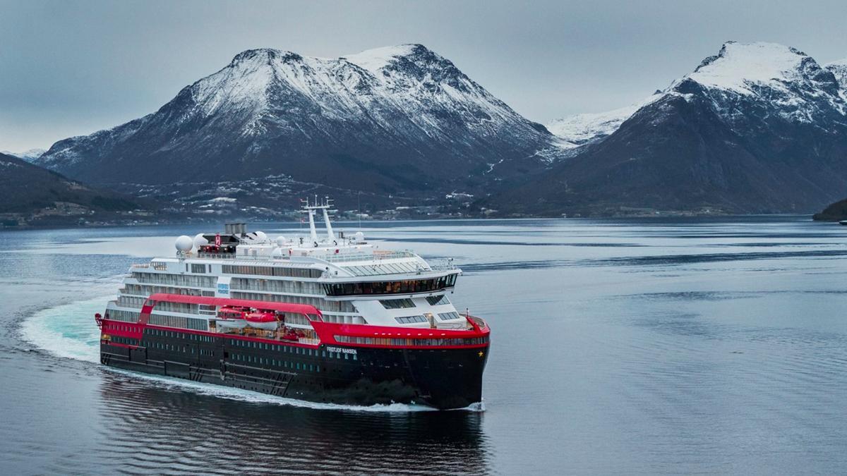 Hurtigruten holds naming ceremony for Fridtjof Nansen
