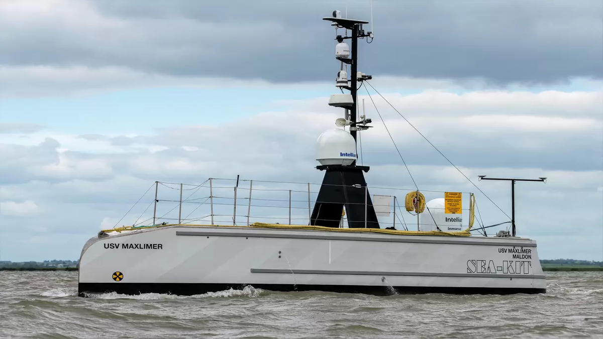SEA-KIT to retrofit USV with hydrogen fuel cell