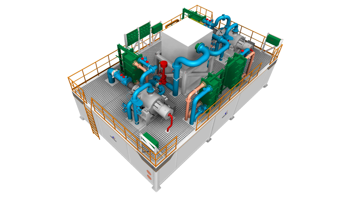 Compact reliquefaction systems ordered for Knutsen LNG newbuilds