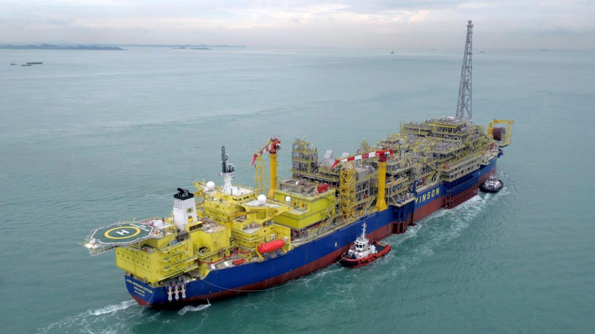 One of the bidders to construct the FPSO for the Limbayong project is Yinson, which constructed the FPSO John Agyekum Kufuor for Ghana (source: Yinson)
