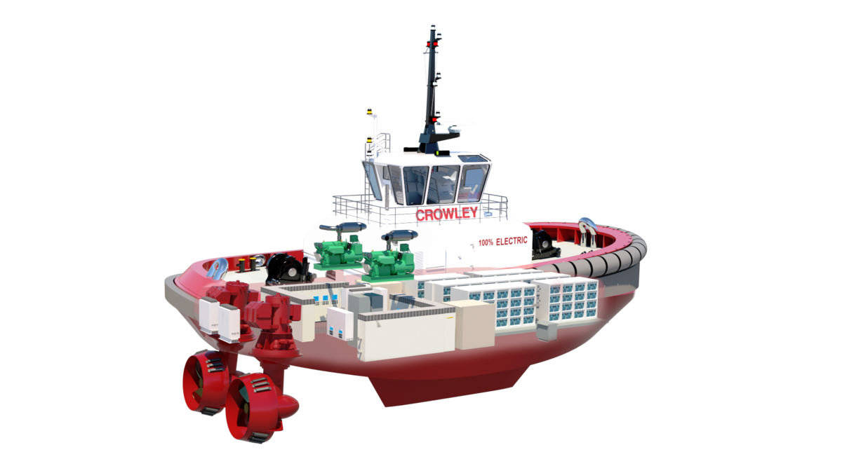 New designs unveiled for low-emissions towage